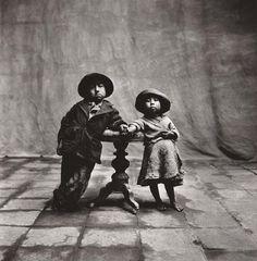 Irving Penn, Cuzco Children, Peru, December, 1948. Saw at the Peru exhibit in Seattle
