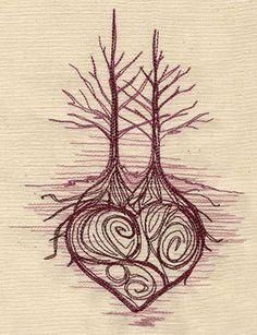 Intertwined roots
