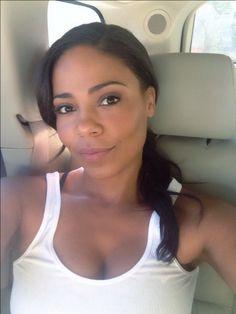 Sanaa Good Monday sunshine. #setlife #theperfectguy #sexythriller Beautiful Celebrities, Beautiful Actresses, Beautiful Black Women, Beautiful People, Barely There Makeup, Sanaa Lathan, Toni Braxton, Black Girls Rock, Woman Crush