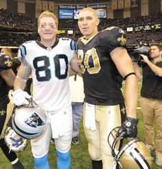 Jeremy and Jimmy- I miss Jeremy Shockey, but so glad to have Jimmy Graham on our team!