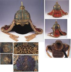 One of the best preserved Joseon armor pieces is displayed in a Russian museum. This type of armor is called 두정갑 (頭釘甲).
