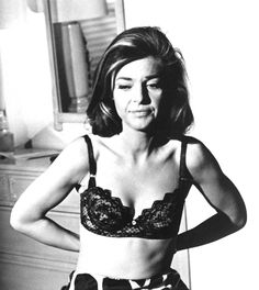 The Scarily Chic Mrs. Robinson A black lace bra and leopard half-slip from her rather extensive lingerie wardrobe.  Photo: Courtesy of Everett Collection/Copyright © Everett Collection / Everett Collection