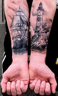 Lighthouse Tattoos   Inked Magazine