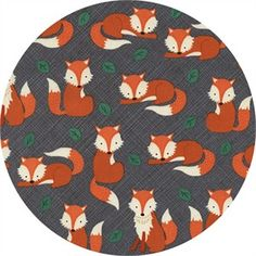 Items similar to Fox - Charcoal Changing Pad Cover - Woodland Nursery Essential on Etsy Tent Fabric, Fox Fabric, Fabric Shop, Cotton Fabric, Woodland Nursery, Woodland Animals, Fox Quilt, Woodland Fabric, Timeless Treasures Fabric