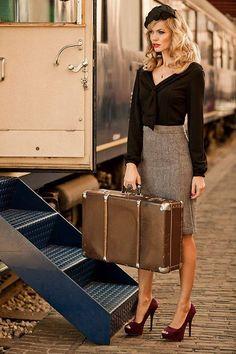 """Fashion & Trains to Paris""""...."""