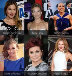 Celebrities who have survived breast cancer #beautysouthafrica