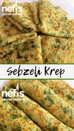 Sebzeli Krep – Nefis Yemek Tarifleri – – Vegan yemek tarifleri – The Most Practical and Easy Recipes Yummy Recipes, Lunch Recipes, Baby Food Recipes, Pasta Recipes, Cooking Recipes, Yummy Food, Healthy Recipes, Roasted Vegetable Medley, Vegetable Pancakes