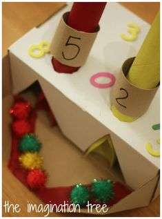 Addition and Counting Machine Maths Activity! - The Imagination Tree