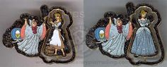 Disney Cinderella Rags to Riches Spinner Pin   eBay-the_wicked_wench