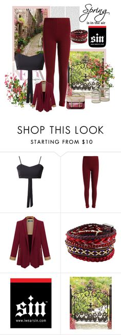 """Iwearsin.com"" by nerabirparic ❤ liked on Polyvore featuring moda, Oris ve MacKenzie-Childs"