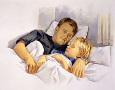 Watching our children sleep is so peaceful. It gives us that big feeling inside hard to put words to. Kids Sleep, Mona Lisa, Peace, Illustrations, Feelings, Couple Photos, Couples, Big, Words