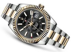 """Rolex launches the new Sky-Dweller line introducing some tweaks with """"Rolesor"""" model options. They got more accessible prices and new hands & indexes. Discover the new models on our site, live now!"""