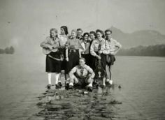 The Edelweiss Pirates...were an anti-Nazi youth and resistance group who often clashed with Hitler Youth and the Gestapo.  Many were executed by the Gestapo. - Click image to find more History Pinterest pins