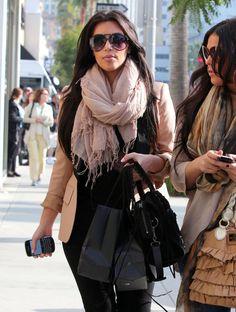 Kim Kardashian - Kim Kardashian Shopping For Glasses In Beverly Hills