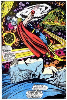 Thor 159 Dr Don Blake dreaming Thor splash 1968 Kirby