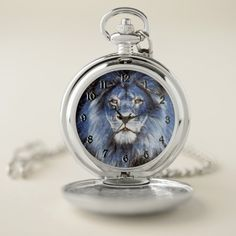 Shop Majestic Sparkle Lion Pocket Watch created by ManCavePortal. Personalized Pocket Watch, Lion Cat, Cat House Diy, Personal Shopping, Make A Gift, Cool Watches, Colorful Backgrounds, Sparkle, Cat Products