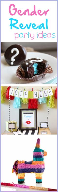 Gender Reveal Party Ideas FOR THE FUTURE :)