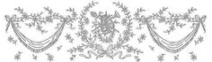 Broderie D'Antan: Embroidery Patterns (10 designs)