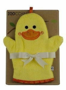 Puddles the Duck Bath Mitt by Zoocchini