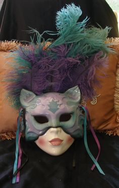 Clay Artmask is handcrafted and handpainted in San Fransisco, Just beautiful