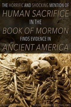 While capturing a city, the Lamanites took many women and children as prisoners and sacrificed them to idols. This shocking and horrific practice finds a long tradition in ancient America. Learn the reasons why ancient cultures like the Lamanites might have had such practices. https://knowhy.bookofmormoncentral.org/content/why-did-the-lamanites-sacrifice-women-and-children-to-idols #Sacrifice #BookofMormon #Mormon #Faith #LDS #Ancient