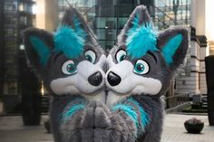 I just can't get over how cute this fursuit is!  :3
