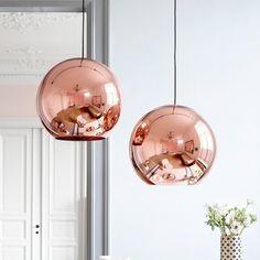 Copper Round Pendant 2