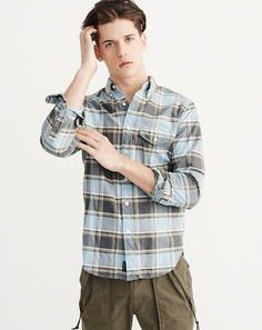 Mens Shirts | Abercrombie & Fitch