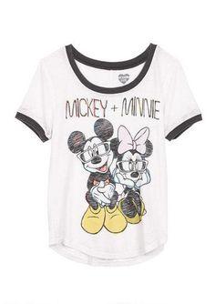 Mickey + Minnie Tee