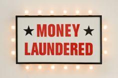 Money Laundered by Steve Lambert. Ironically 'brilliant' works.