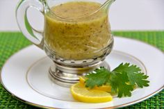 Meyer Lemon Vinaigrette - a wonderful with both green savory salads or on lettuce salads with apples, pears, grapes, craisins, etc.