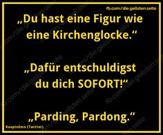cool ... witzig ... knuddelig ... praktisch ... oder einfach nur inspirierend ... Funny Facts, Funny Jokes, Hilarious, Word Pictures, Funny Pictures, Words Quotes, Wise Quotes, Good Jokes, Life Is Hard