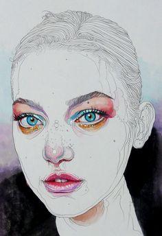 Gemma Ward by Matthew Gaulke