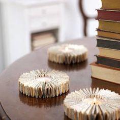 DIY: Kreativanleitung für Deko mit alten Büchern