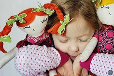 Ruby Lou Dolls, pattern by Sew Much Ado