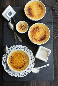 """Every woman should have a blowtorch"" – Julia Child. I wholeheartedly agree. I finally own one and I finally made creme brulee just so I cou..."