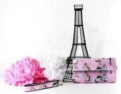 Fabric Wallet, Wristlet Purse, Clutch Wallets, Stylish Wallets, Women's Wallet, Female Wallets, Trifold Wallets, Ladies Wallets by TrampLeeDesigns on Etsy #etsy #handmade #pink #ladies #girls #wallet #bags