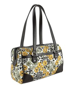 Take a look at the Vera Bradley Go Wild Caroline Satchel on #zulily today!