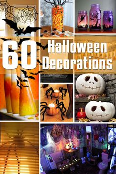 60 Halloween Decorations - Decor for the Holidays