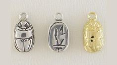 this scarab charm is an ancient symbol, worshiped by the Egyptians, it still holds meaning in our times