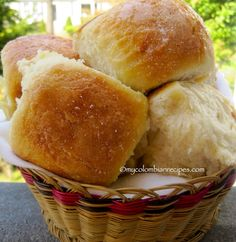 Mojicones o Pan Mojicón (Colombian Sweet Rolls) from @My Colombian Recipes