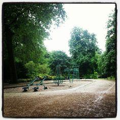 Nice view op een regenachtige dag... #tilburg #Wilhelminapark