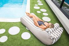 Designer Bean Bags for Outdoor and Indoor Use - Epona Co Beanbags. Byron Daybed