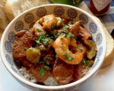Enjoy the flavors of New Orleans with a bowl of Gumbo Ya Ya made with chicken, andouille sausage and shrimp. Stove top & Slow Cooker Instructions included.
