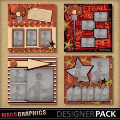 basketball scrapbook albums | Basketballfun_albumtemplates