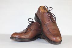 Mens COLE HAAN Oxfords / Brown Leather Oxford Dress Shoes / Size US 8 M