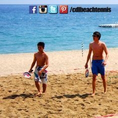 Other people at the beach became interested and decided to try the sport when CDL Beach Tennis opened the court before the game proper.   FADY Sports beach tennis rackets are now available at Toby's Sports outlets!   #philippinebeachtennis #beachtennisphilippines #PHBeachTennis #itsmorefuninthephilippines #fadysports #tobys #philippines #beaches #beachsport #fun #sand #summer #sun #sports #CDLbeachtennis #fady #beachtennis #Laluzresort #Laluzbeachresort #olympicbeachtennis