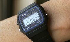 Casio Men's LCD F-91W £8.99 argos