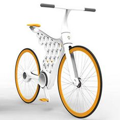 This bike's core structure is 3d printed in nylon. As only some parts need to be purchased, the cost for the bicycle drops dramatically and can be adjusted to fit the needs and specifications of the cyclist.