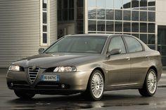 De Alfa Romeo 166 facelift from 2003